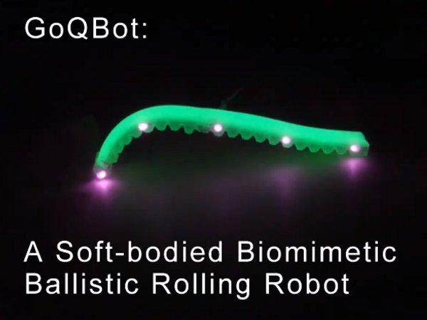 "Caterpillar Bot Mimics ""Ballistic Rolling"""