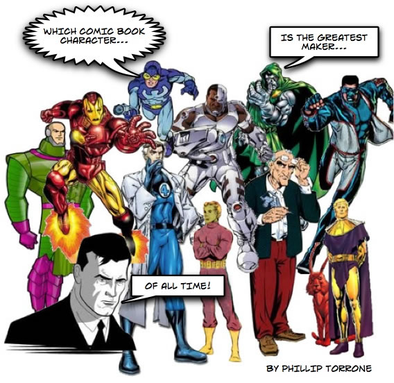 """Only A Few More Hours To Help Name The Best Comic """"Maker"""" Of All Time!"""