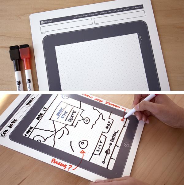 iPad Dry Erase Template