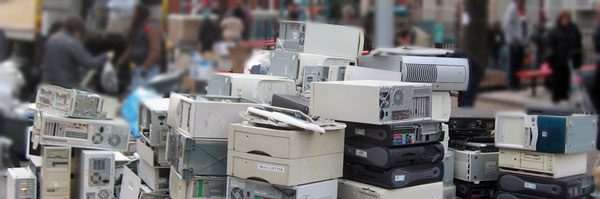 Recycle your E-Waste throughout April in NYC