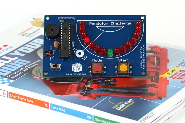 New In the Maker Shed: Pendulum Challenge Kit