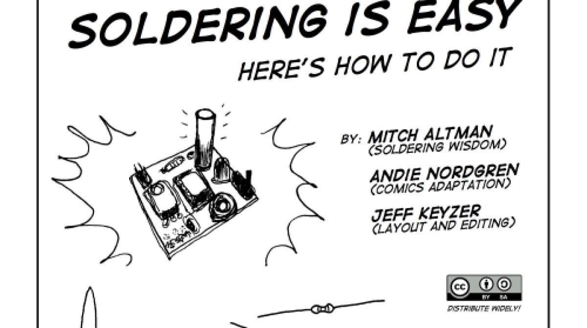 Soldering Is Easy Comic Book Make