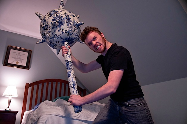 Pillow Mace Recklessly Escalates Pillow Arms Race