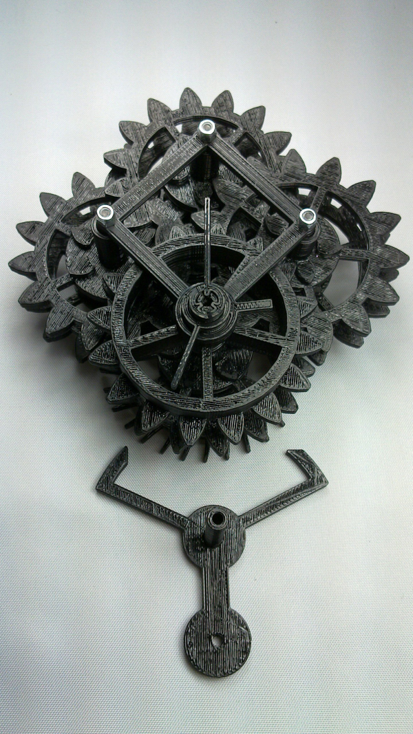 Beautiful Printed Clock