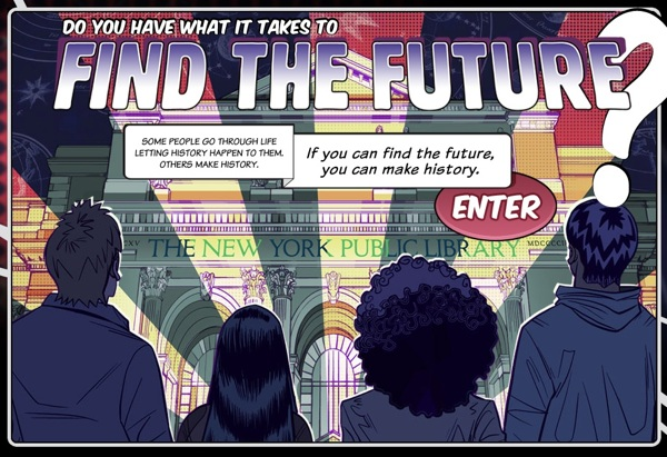 Find the Future Game at the New York Public Library