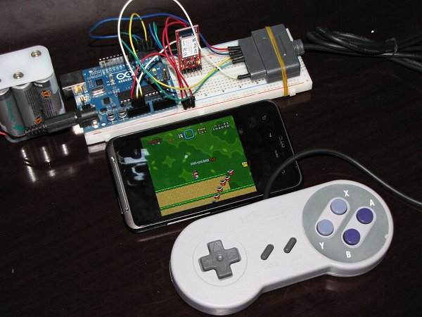 How To: Connect an SNES Controller to your Android Phone