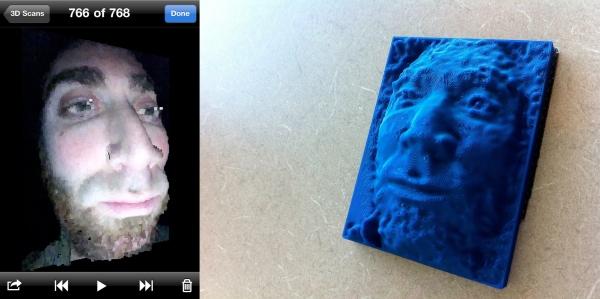 iPhone 4 3D Scanner