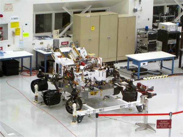JPL Curiosity Mobility Platform
