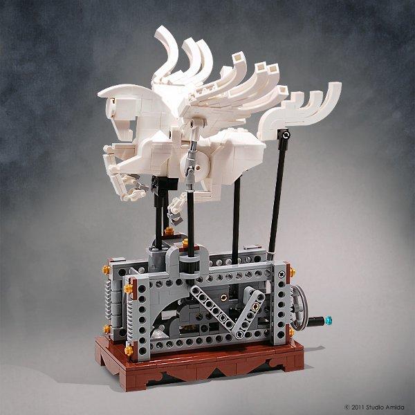 Lego Pegasus Automaton