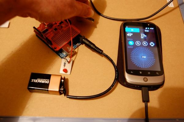 Confirmed! Standard Arduino Works With Android Open Accessory