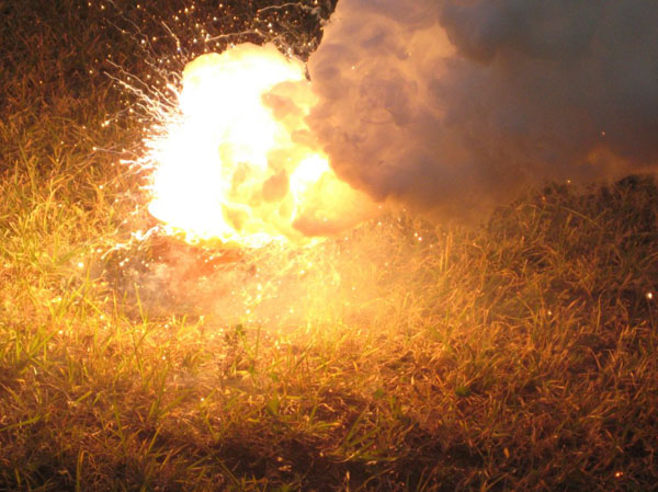 Thermite Experimenter's Online Video Notebook