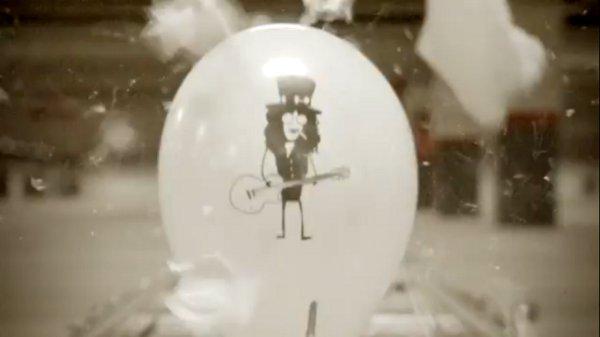 Animation On A Belt of Bursting Balloons