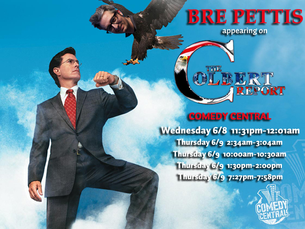 Bre Pettis on Colbert Report Tomorrow Night (Wed)