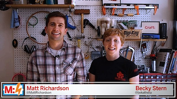 Make: Live Episode 10: Hackerspace Roadshow (preview video)