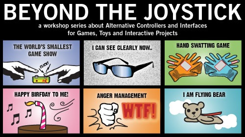 Beyond the Joystick Class at Eyebeam in NYC