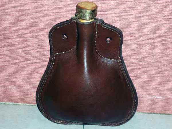 How-To:  Classic Leather Water Bottle