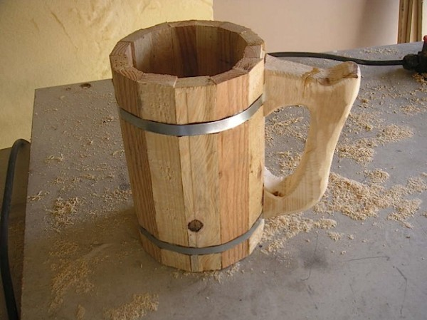 How-To: Wooden Beer Mug
