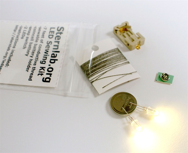 In the Maker Shed: LED Sewing Kit