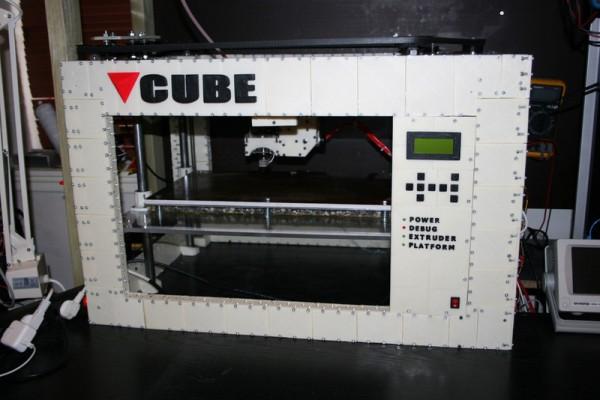 CUBE 3D Printed 3D Printer