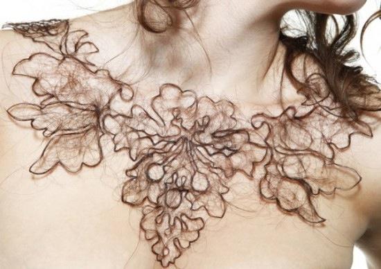 Human Nair Necklaces