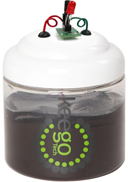 New in the Maker Shed: MudWatt Microbial Fuel Cell Kit