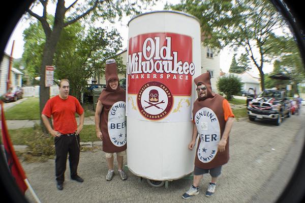 Milwaukee Makers on Parade