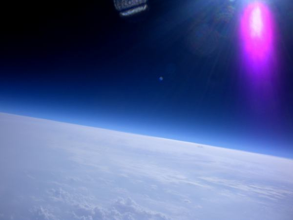Mini Maker Faire North Carolina Near Space Balloon Launch: Success!