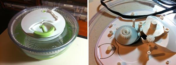 Repair that Salad Spinner