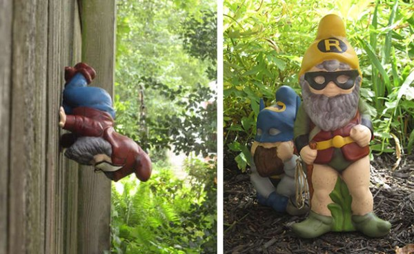 How-To: Superhero Garden Gnomes
