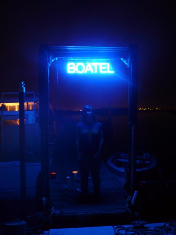 Afloat on the Boggsville Boatel