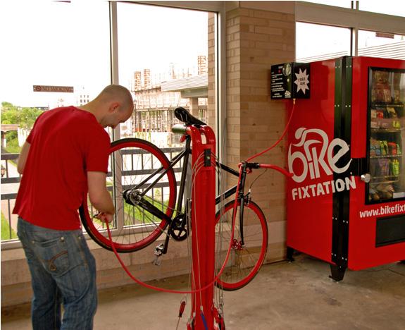 Self-Serve Bike Repair Kiosk