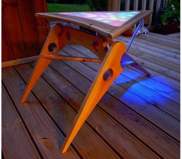 Klingon Coffee Table with Light Show