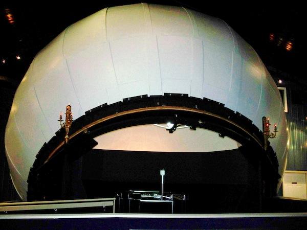 Frank Kovac and his Homemade Planetarium