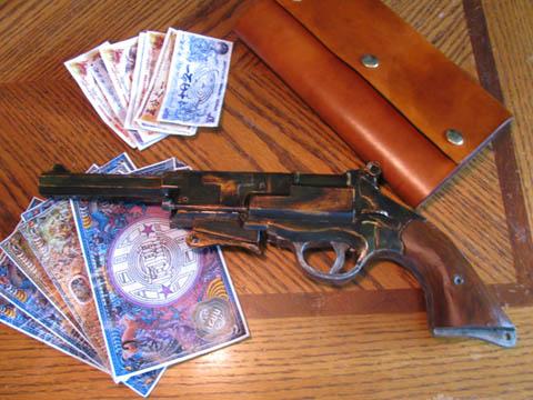 Papercraft Firefly Gun