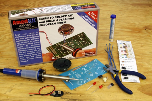 In the Maker Shed: Learn to Solder Kit