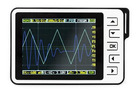 In the Maker Shed: DSO Nano V2.0 Pocket Oscilloscope