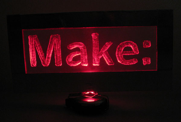Weekend Projects: Floating Glow Display
