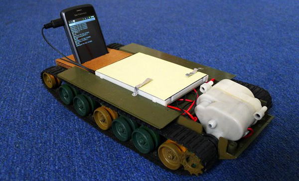 Android Powered Robot Tank
