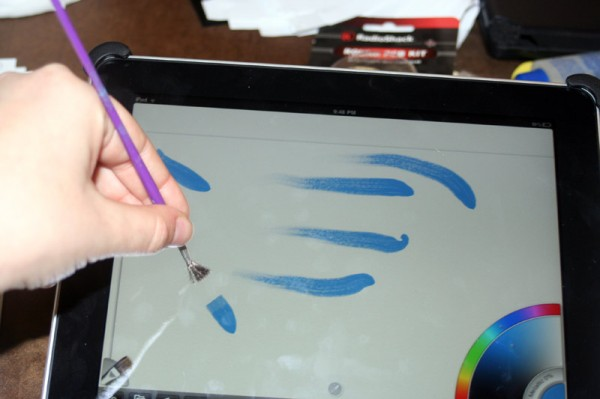 DIY Capacitive Touch Brush Stylus