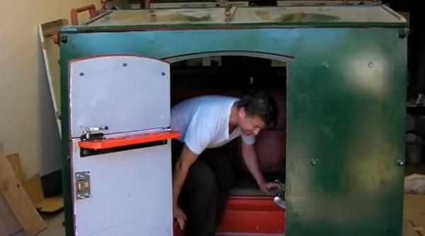 Dumpster Trailer Conversion