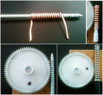 """Four Ways To Make a """"Worm"""" For an Existing Gear"""