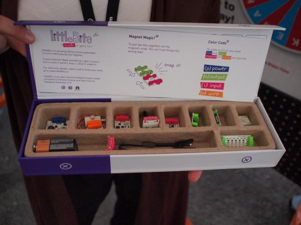 littleBits launches at Maker Faire