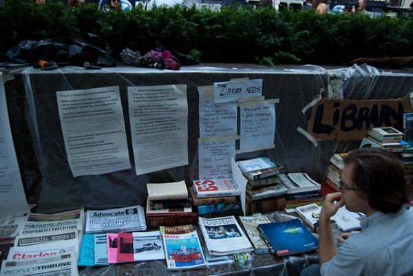 MAKE Magazine Available at Occupy Wall Street Library