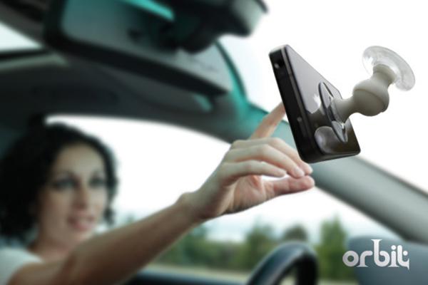 Orbit Smartphone Suction Mount