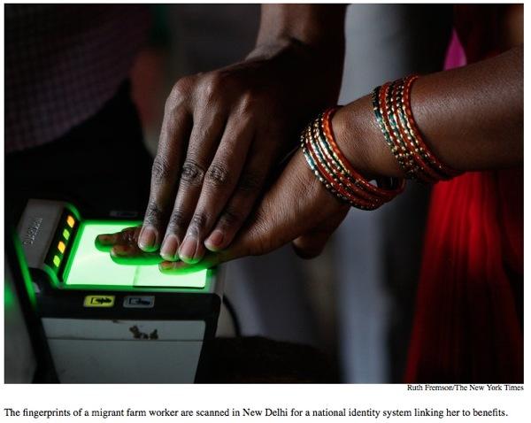 News From The Future: World's Largest Biometric Database 1.2 billion Identities