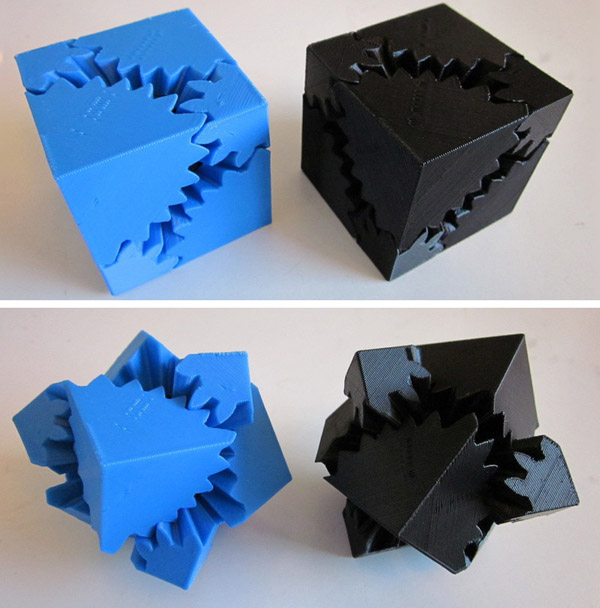 The Thingiverse Cube Gears Phenomenon