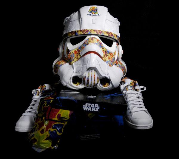 Stormtrooper Helmet From Sneakers
