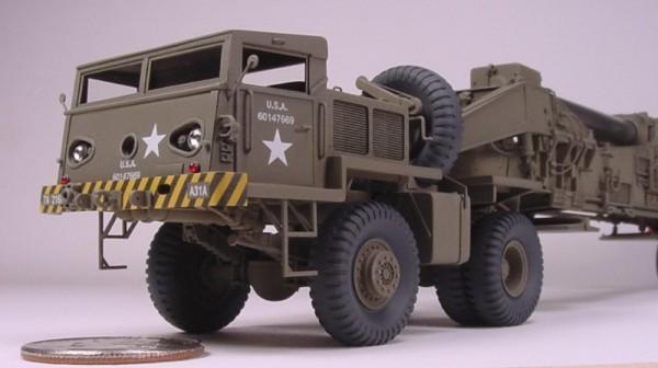 Scratchbuilt: M65 Atomic Cannon