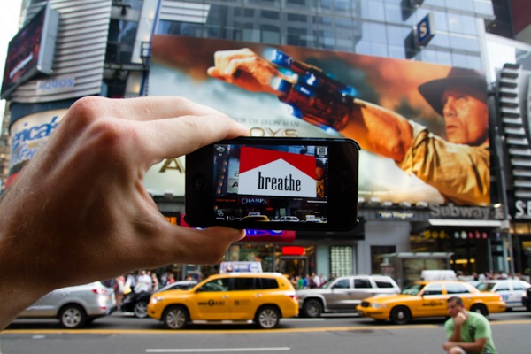 News From The Future: Augmented Reality Advertising Takeover