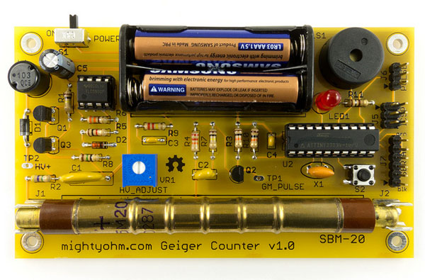 New in the Maker Shed: Geiger Counter Kit